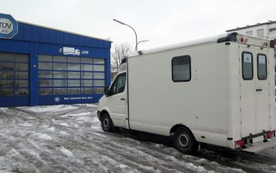 LKW-Zulassung während der Wohnmobil-Ausbauphase