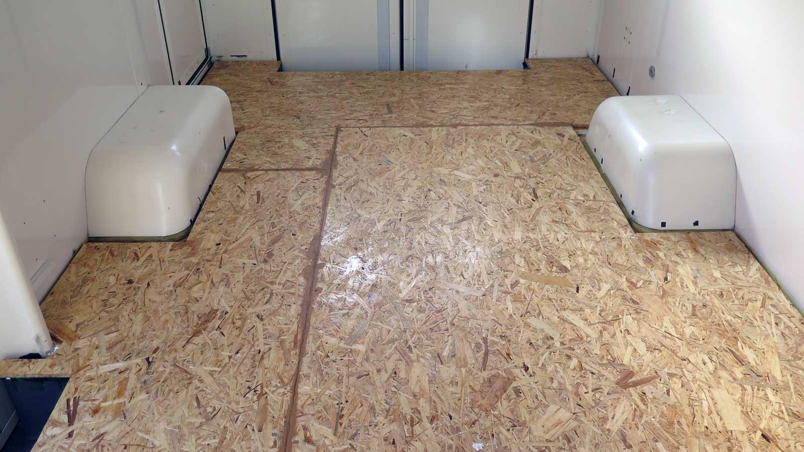 Boden Isolieren Im Wohnmobil Frankenwagen