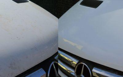 Klebereste und Foliereste am Fahrzeug entfernen
